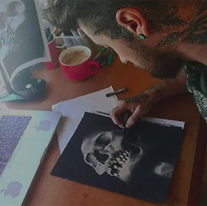 Kali's Kiss Tattoo lavori