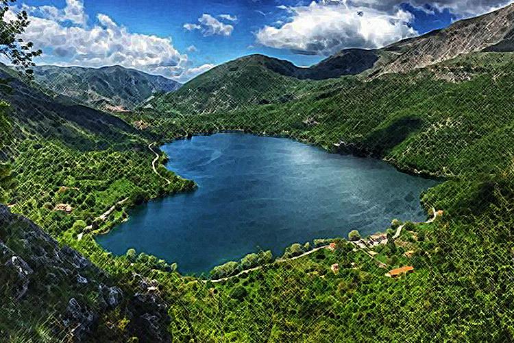 Lago scanno Abruzzo